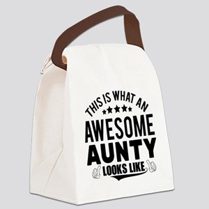 THIS IS WHAT AN AWESOME AUNTY LOOKS LIKE Canvas Lu