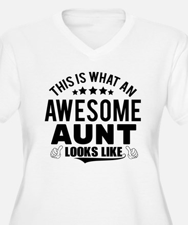 THIS IS WHAT AN AWESOME AUNT LOOKS LIKE Plus Size
