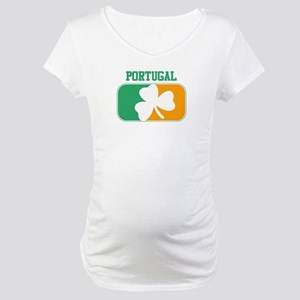 PORTUGAL irish Maternity T-Shirt