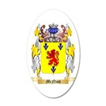 McNish 35x21 Oval Wall Decal