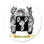 Michelson Round Car Magnet