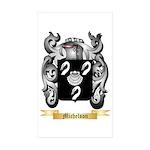 Michelson Sticker (Rectangle 50 pk)