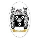 Michelson Sticker (Oval 50 pk)