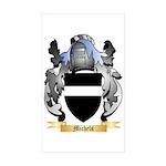 Michels Sticker (Rectangle 50 pk)