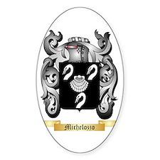 Michelozzo Sticker (Oval)