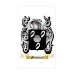 Michelozzi Sticker (Rectangle 50 pk)