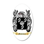 Michelozzi 35x21 Oval Wall Decal