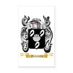 Michelotto Rectangle Car Magnet
