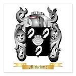 Michelotto Square Car Magnet 3