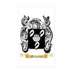 Michelotti Sticker (Rectangle 50 pk)