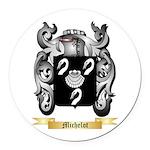 Michelot Round Car Magnet