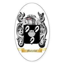 Michelot Sticker (Oval)