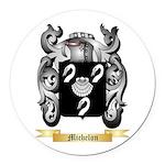 Michelon Round Car Magnet