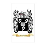 Michelon Sticker (Rectangle 10 pk)