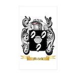 Michelk Sticker (Rectangle 50 pk)