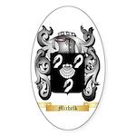 Michelk Sticker (Oval 10 pk)