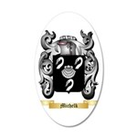 Michelk 35x21 Oval Wall Decal