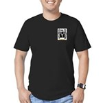 Michelis Men's Fitted T-Shirt (dark)