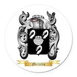 Michelis Round Car Magnet