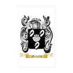 Michelis Sticker (Rectangle 50 pk)