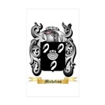 Michelino Sticker (Rectangle 10 pk)