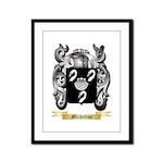 Michelino Framed Panel Print