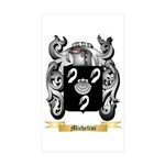 Michelini Sticker (Rectangle 10 pk)