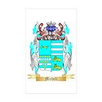 Micheli Sticker (Rectangle 50 pk)