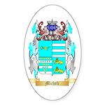 Micheli Sticker (Oval 50 pk)