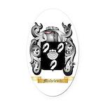 Michelevitz Oval Car Magnet