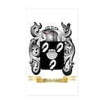 Michelevitz Sticker (Rectangle 50 pk)