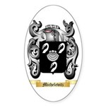 Michelevitz Sticker (Oval 50 pk)