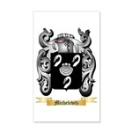 Michelevitz 35x21 Wall Decal