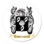 Micheletto Round Car Magnet