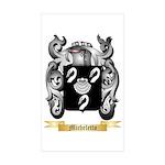 Micheletto Sticker (Rectangle 50 pk)