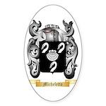 Micheletto Sticker (Oval)