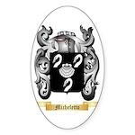 Micheletto Sticker (Oval 10 pk)