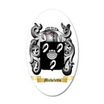 Micheletto 35x21 Oval Wall Decal