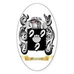 Micheletti Sticker (Oval 10 pk)