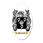 Micheletti 35x21 Oval Wall Decal