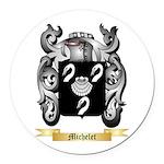 Michelet Round Car Magnet