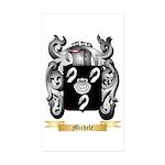 Michele Sticker (Rectangle 50 pk)