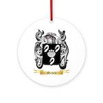 Michele Round Ornament