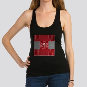 Houndstooth..RTR Racerback Tank Top