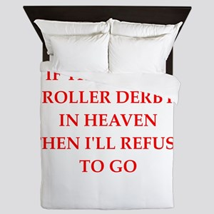 roller derby Queen Duvet
