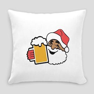 Cheers Santa Everyday Pillow
