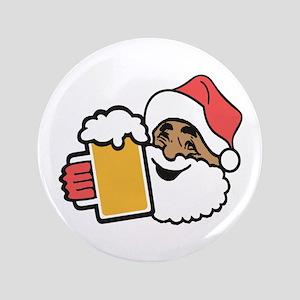 Cheers Santa Button