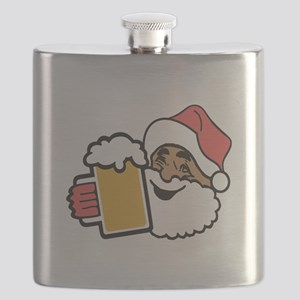 Cheers Santa Flask