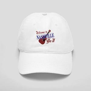 Welcome to Nashville Ya'll-01 Baseball Cap