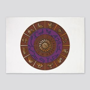 Zodiac 5'x7'Area Rug